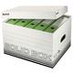 Archiv/Transportbox Solid weiß Größe L, 450x305x346mm, bis 15 kg