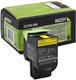 Rückgabe-Tonerkassette yellow für CX310dn, CX310n, CX410de,