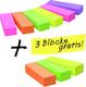 Post-it Page Marker Post-it 15x50mm 9 Blocks/6 Farben VE=1 Packung=6 Block+3 Block gratis