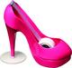 Scotch Handabroller Schuh pink  inkl. 1 Rolle Scotch Magic Klebeband