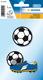 Bügelbilder Fussball zum Aufbügeln 2 St 1Pack