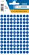 Etikett 8mm Farbpunkt d.blau 540Et 1Pack