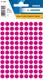 Etikett 8mm Farbpunkt pink 540Et 1Pack