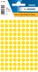 Etikett 8mm Farbpunkt gelb 540Et 1Pack