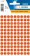 Etikett 8mm Farbpunkt rot 540Et 1Pack