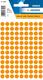 Etikett 8mm Farbpunkt l.orange 540Et 1Pack