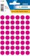 Etikett 12mm Farbpunkt pink 240Et 1Pack