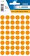 Etikett 12mm Farbpunkt l.orange 240Et 1Pack