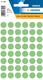 Etikett 12mm Farbpunkt grün 240Et 1Pack