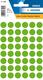 Etikett 12mm Farbpunkt l.grün 240Et 1Pack