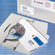 Versandkuvert für CD 220x124x5mm Karton weiss 200 St