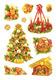 Schmucketikett Decor Weihnachtssymbole 2Bl 1Pack