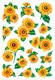 Schmucketikett Decor Sonnenblumen 2Bl 1Pack