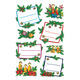 Schmucketikett Decor Weihnachten Tannengestecke Pap Begl 2Bl 1Pack