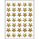 Schmucketikett Magic Weihnachten Sterne Prismatic 1Bl 1Pack