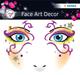 Face Art Sticker Mystery 1Bl 1Pack