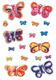 Schmucketikett Magic Schmetterlinge 3D Flügel 1Bl 1Pack