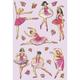 Schmucketikett Magic Crystal Ballerina 1Bl 1Pack