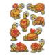 Schmucketikett Magic Schildkröten Wackelaugen 1Bl 1 Pack