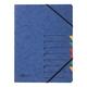 Ordnungsmappe, A4, 7 Fächer, blau