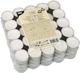 Teelichte Ø 39 mm - 17 mm hoch, weiss VE = 1 Packung = 100 Stück