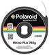 PLA Filament weiss 750gr Allzweck-kompostierbarer Kunststoff bi-direktionaler Smart-Chip-Mechanismus