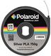 PLA Filament silber 750gr Allzweck-kompostierbarer Kunststoff bi-direktionaler Smart-Chip-Mechanismus