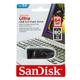 Speicherstick Ultra, USB 3.0, schwarz, Kapazität 64 GB