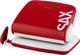 Design Locher, 20 Blatt (2 mm), rot, Formate: A4, A5, A6