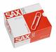 Büroklammern 240, 78 mm 50er vernickelt, Metalldraht VE = 1 Schachtel = 50 Stück
