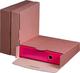 ordner-Transportbox 80B, braun wiederverschließbar 1 Pack = 20 Stück