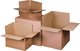 Verpackungs- und Versandkartons A4 2-wellig, braun wiederverschließb.