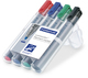 Lumocolor Flipchart marker mit Rundspitze 2mm VE = 1 Etui a 4 Stifte