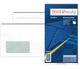 Briefumschlag kompakt, mit Fenster, SK, 75 g/qm, weiß VE = 1 Packung = 25 Stück