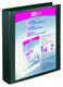 Präsentationsringbuch Velodur A4 4-Ring 30mm Ringdurchmesser schwarz