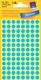 Markierungspunkte, blau, 8mm  4 Blatt = 416 Etiketten/Punkte
