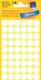 Markierungspunkte, weiß, 12mm  5 Blatt = 270 Etiketten/Punkte